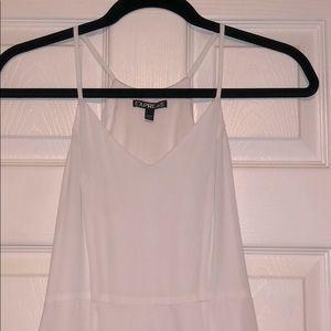 EXPRESS Flirty, White Cocktail Dress, Size 2